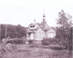 храм в Воздвиженском